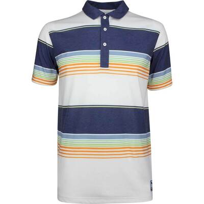 PUMA Golf Shirt Play Loose Pipeline Polo Peacoat LE SS19