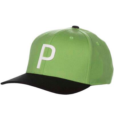 PUMA Golf Cap Throwback P 110 Snapback Irish Green SS19