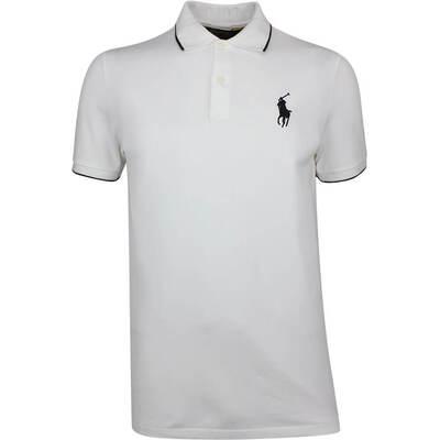 Ralph Lauren POLO Golf Shirt Solid Pique White SS19