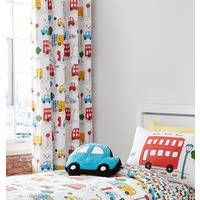 Catherine Lansfield Transport Eyelet Curtains 66 x 72 inch
