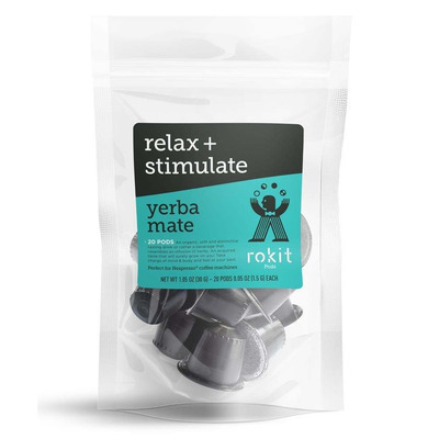 Rokit Pods Organic Yerba Mate Nespresso Compatible Pods 20 Pack