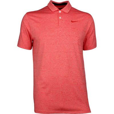 Nike Golf Shirt Vapor Heather Habanero Red SS19