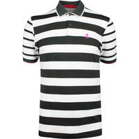 GFORE Golf Shirt Skull Stripe Polo Black Ink SS19