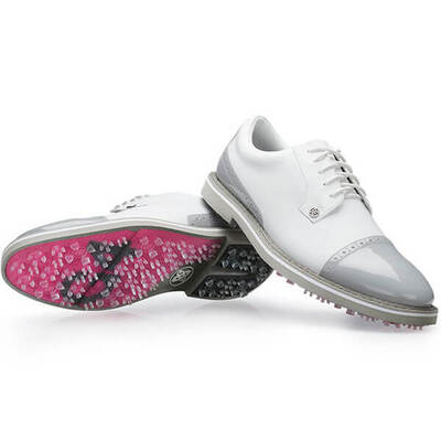 GFORE Golf Shoes Cap Toe Gallivanter Snow Nimbus 2019