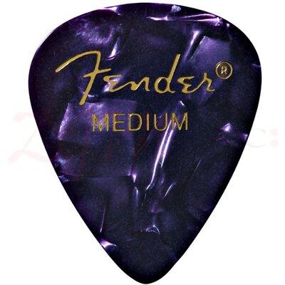 Image of Fender Heavy Purple Celluloid Picks