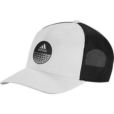 Adidas Golf Cap Globe Trucker Snapback White SS19