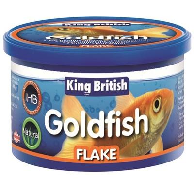 King British Goldfish Fish Flakes