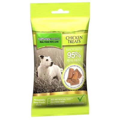 Natures Menu Real Meat Treats For Dogs