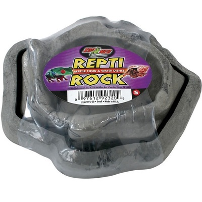 ZooMed ReptiRock Food & Water Dishes