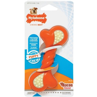 Nylabone Puppy Double Action Bone