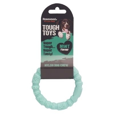 Rosewood Nylon Mint Ring Chew
