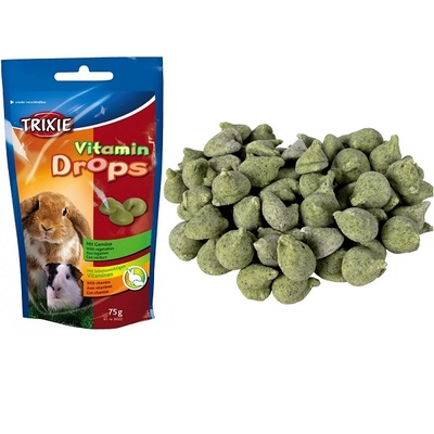 Trixie Small Animal Vitamin Drops Snack 75g