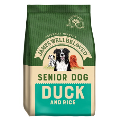 James Wellbeloved Senior Duck & Rice Dog Food