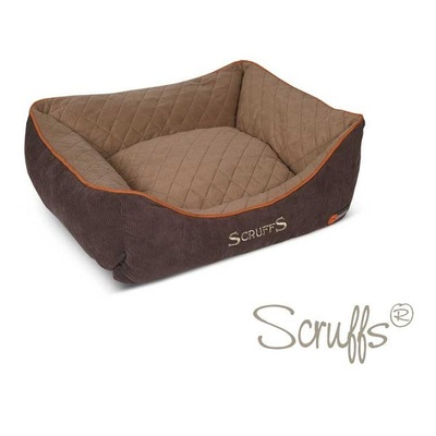 Scruffs Brown & Tan Thermal Box Pet Bed