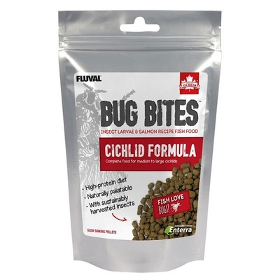 Fluval Bug Bites Cichlid Granules