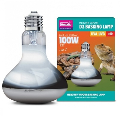 Arcadia 2nd Generation D3 UV Basking Lamp