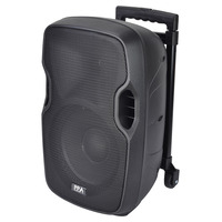 """10"""" Battery Powered PA Speaker With Radio Mic and Bluetooth"""