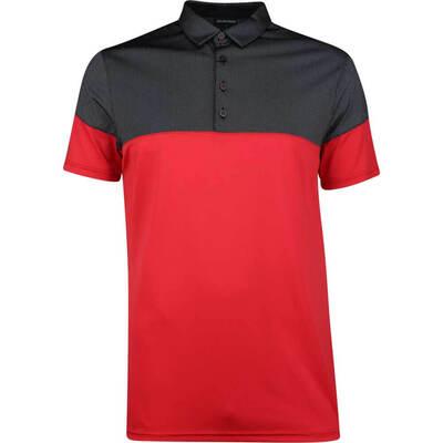 Galvin Green Golf Shirt Milton Red SS19