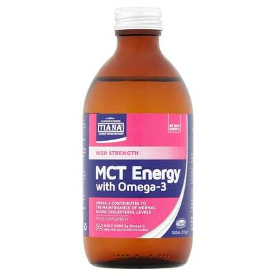 Tiana High Strength MCT Energy with Omega 3 300ml