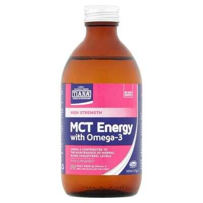 Tiana High Strength MCT Energy with Omega 3 300ml