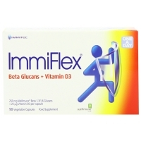 ImmiFlex 250 mg + 25 mcg Vitamin D3 90's
