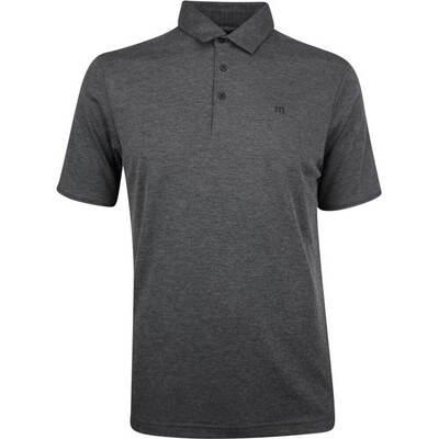 TravisMathew Golf Shirt Classy Polo Heather Black SS19