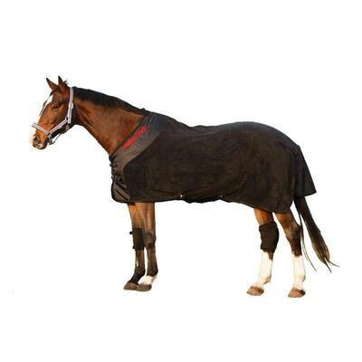 Back on Track® Supreme Equine / Horse Fleece Rug - Black 125cm
