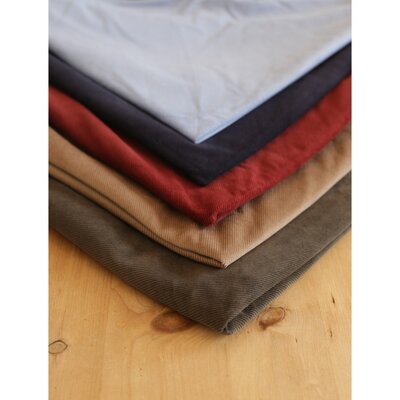 Hunt & Wilson Spare Corduroy Bed Cover - Olive M