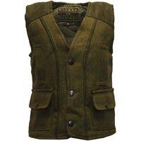 Walker & Hawkes Dark Sage Baby/Toddler Tweed Waistcoat/Gilet/Vest - 14 (6-12 Months)