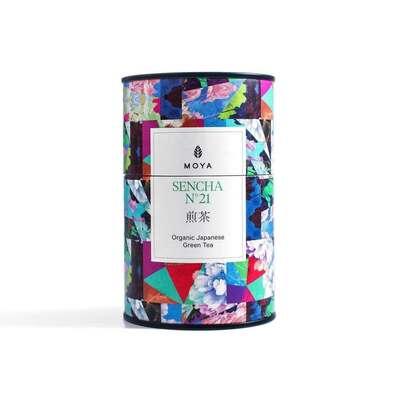 Moya Sencha No. 21 Organic Japanese Green Tea 60g