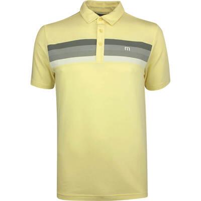 TravisMathew Golf Shirt Withington Polo Pale Banana SS19
