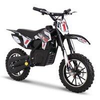 Image of FunBikes MXR 500w Lithium Electric Motorbike 61cm Black Kids Dirt Bike