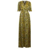 Adelita Leopard Dress - Lemon Leo