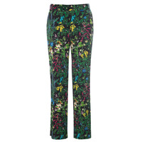 Coco Exclusive Silk Trousers - Marry Black