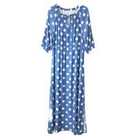 Berrington Dress - Polka Bluebell