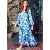 Palma Maxi Dress - Azure