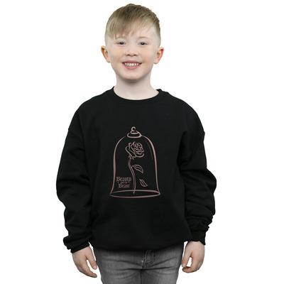 disney princess boys princess rose gold sweatshirt