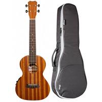 Islander MT-4EQ Electro-Acoustic Tenor Ukulele + Free Padded Bag