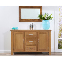 Mark Harris &pipe; Cambridge 150Cm Oak Sideboard (3 Drawers + 2 Doors)