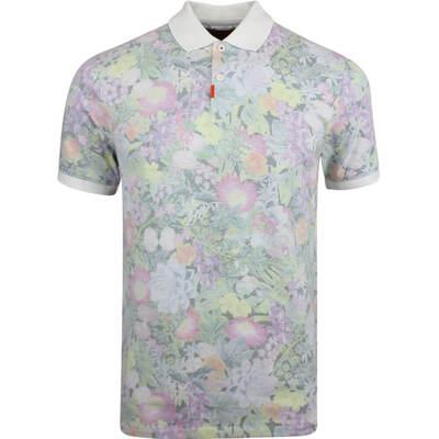 Nike Golf Shirt The Nike Polo Floral Slim Multi Colour SS19