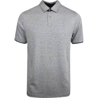 TravisMathew Golf Shirt Nailed It Polo Heather Grey SS19