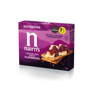Nairn's Caramelised Onion Flatbreads 150g