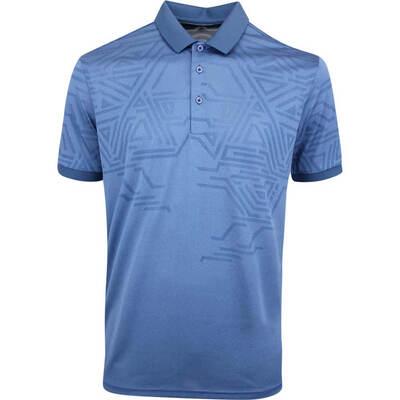 Galvin Green Golf Shirt Merell Faded Denim AW19