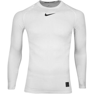 Nike Golf Base Layer LS Nike Pro Shirt White AW19