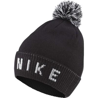 Nike Golf Hat NK Reversible Pom Beanie Black AW19