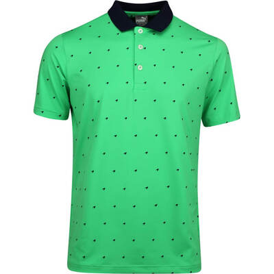 PUMA Golf Shirt Skerries Polo Irish Green LE AW19