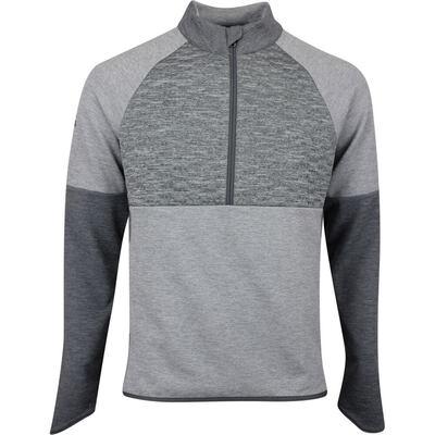 adidas Golf Jacket Frostguard QZ Grey Five HTR AW19
