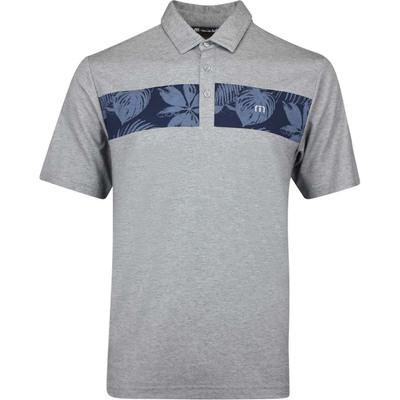 TravisMathew Golf Shirt Everything Is Kewl Polo Grey AW19