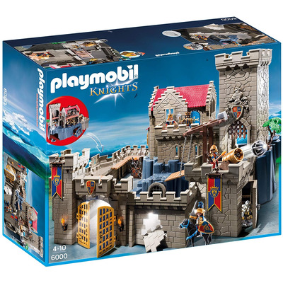 Playmobil Royal Lion Knights Castle With Dungeon