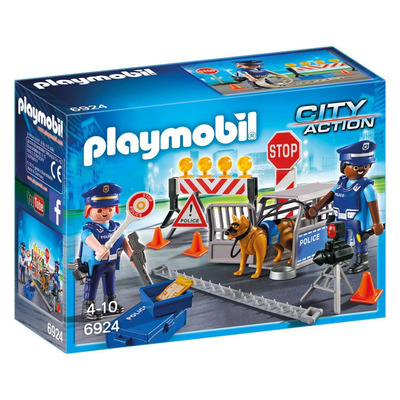 Playmobil Police Roadblock